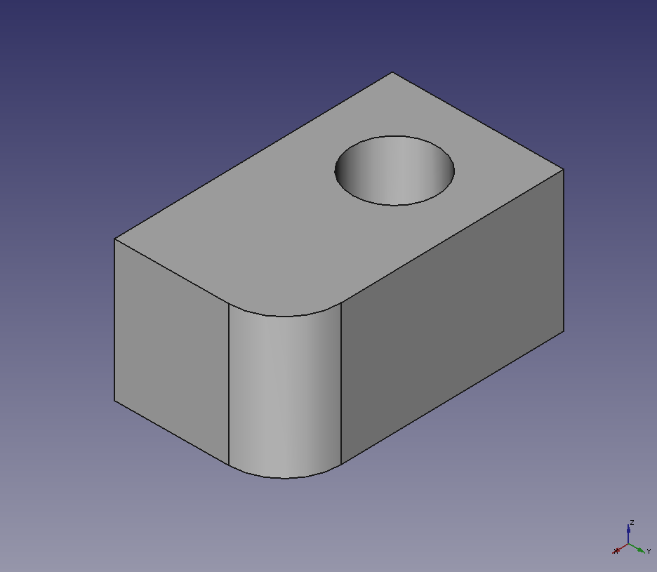 FreeCAD: How to create meshes from a solid? - XSim