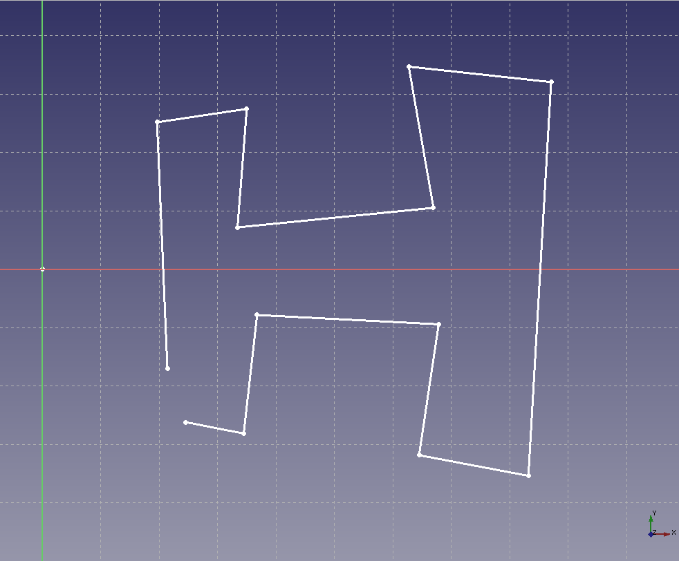 FreeCAD: How to create a solid from a sketch by rotation