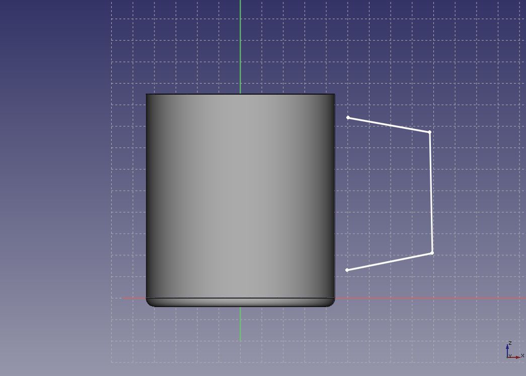 FreeCAD: Tutorial Mug (2/3) - XSim